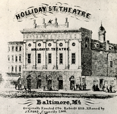 Holliday Street Theatre in Baltimore