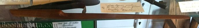 Mudd letter opener