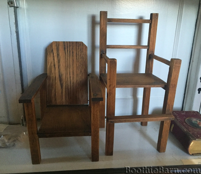 Spangler doll chairs