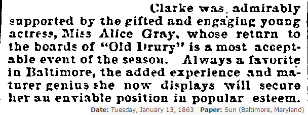 1863 Return to Baltimore 2 Alice Gray