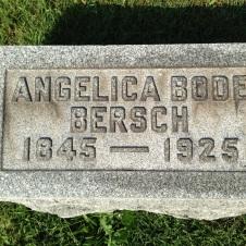 Angelica Bersch grave