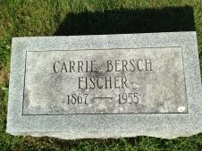 Carrie Bersch Fischer grave