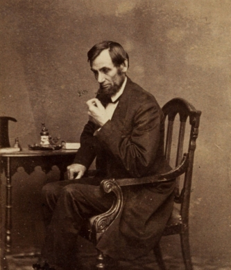 Abraham Lincoln Thinking