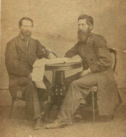 Everton Conger and Luther Baker