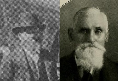Thaddeus Dashiell and Andrew LaFever, two of John McCall's fellow prisoners, in their later years.
