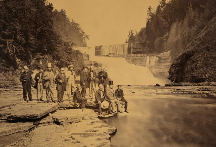 seward-donaldson-et-al-trenton-falls-1863