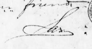 Sam letter signature