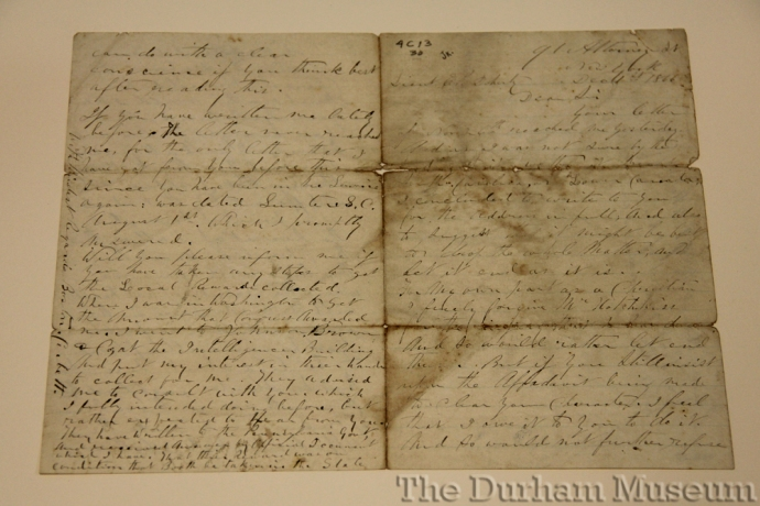 boston-corbett-1866-letter-to-doherty-durham-1