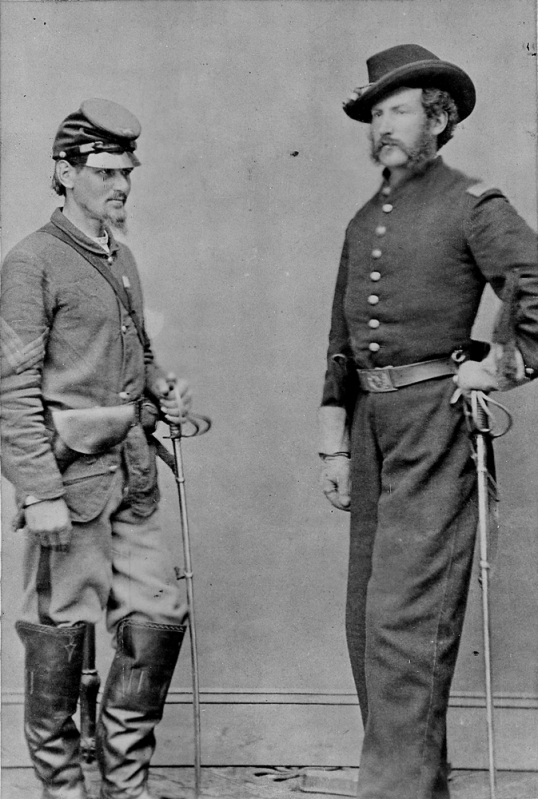 Boston Corbett and Edward Doherty