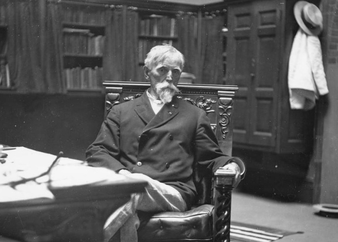 Lew Wallace near the end of his life